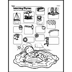 Free Second Grade Math Challenges PDF Worksheets Worksheet #187