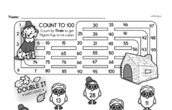 Free Second Grade Math Challenges PDF Worksheets Worksheet #59