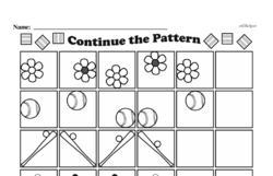 Free Second Grade Math Challenges PDF Worksheets Worksheet #42