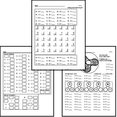 Math Facts Practice Mixed Math PDF Book