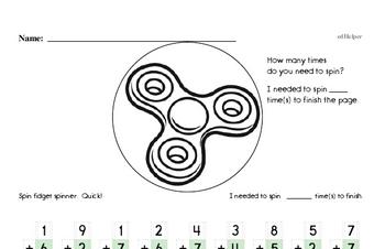 Addition Math Minutes
