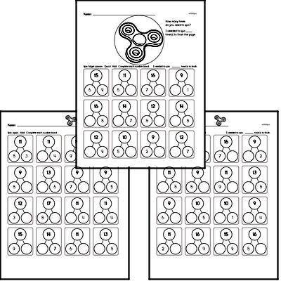 Number Bonds Math Minutes
