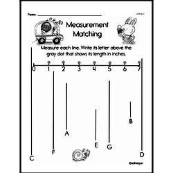 Second Grade Measurement Worksheets - Length Worksheet #24