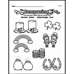 Second Grade Measurement Worksheets - Measurement and Comparisons Worksheet #2