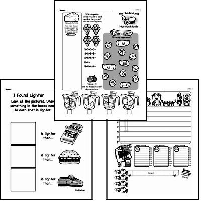 Measurement - Measurement and Weight Workbook (all teacher worksheets - large PDF)