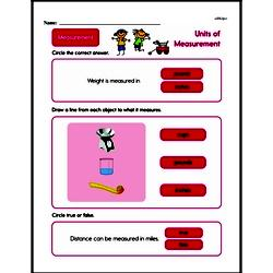 Second Grade Measurement Worksheets - Units of Measurement Worksheet #10