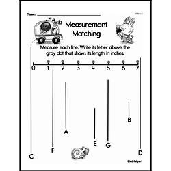 Free Second Grade Measurement PDF Worksheets Worksheet #4
