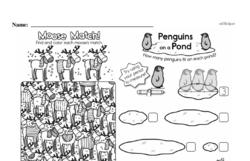 Free Second Grade Measurement PDF Worksheets Worksheet #31