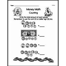 Money Worksheets - Free Printable Math PDFs Worksheet #119
