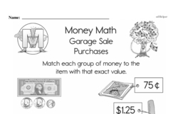 Money Worksheets - Free Printable Math PDFs Worksheet #20