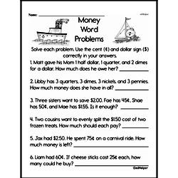 Money Worksheets - Free Printable Math PDFs Worksheet #14