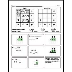 Free Second Grade Money Math PDF Worksheets Worksheet #1