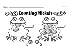 Free Second Grade Money Math PDF Worksheets Worksheet #23