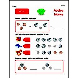Money Worksheets - Free Printable Math PDFs Worksheet #27