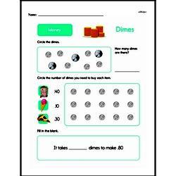 Money Worksheets - Free Printable Math PDFs Worksheet #91