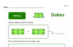 Money Worksheets - Free Printable Math PDFs Worksheet #33