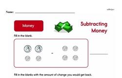 Money Worksheets - Free Printable Math PDFs Worksheet #82