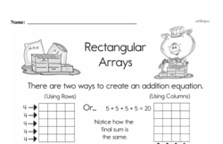 Multiplication Worksheets - Free Printable Math PDFs Worksheet #126