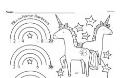 Free Second Grade Multiplication PDF Worksheets Worksheet #7