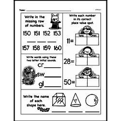 Free Second Grade Number Sense PDF Worksheets Worksheet #14