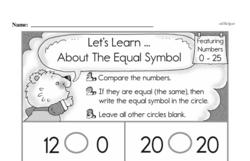 Free Second Grade Number Sense PDF Worksheets Worksheet #98