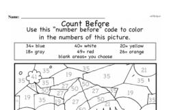 Free Second Grade Number Sense PDF Worksheets Worksheet #13