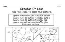 Free Second Grade Number Sense PDF Worksheets Worksheet #80
