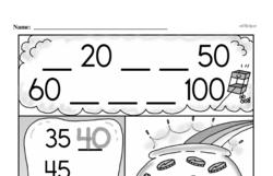 Free Second Grade Number Sense PDF Worksheets Worksheet #63