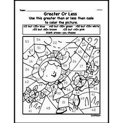 Free Second Grade Number Sense PDF Worksheets Worksheet #37