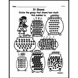 Free Second Grade Number Sense PDF Worksheets Worksheet #93