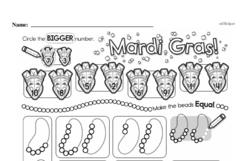 Free Second Grade Number Sense PDF Worksheets Worksheet #71
