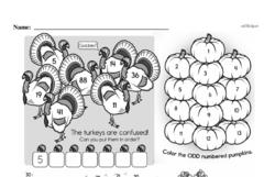 Free Second Grade Number Sense PDF Worksheets Worksheet #72