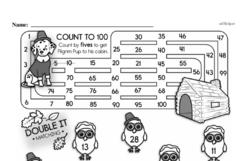 Free Second Grade Number Sense PDF Worksheets Worksheet #52