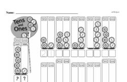 Free Second Grade Number Sense PDF Worksheets Worksheet #9