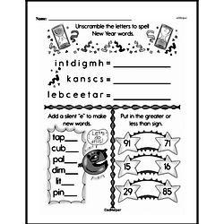 Second Grade Number Sense Worksheets Worksheet #106