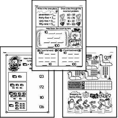 Number Sense Workbook (all teacher worksheets - large PDF)