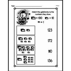 Second Grade Number Sense Worksheets Worksheet #143