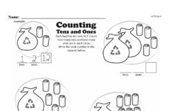 Second Grade Number Sense Worksheets Worksheet #44