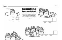Second Grade Number Sense Worksheets Worksheet #43