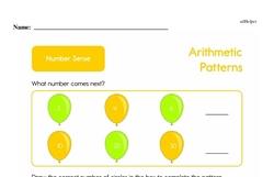Second Grade Number Sense Worksheets Worksheet #5