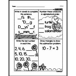 Free Second Grade Patterns PDF Worksheets Worksheet #35
