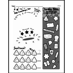 Free Second Grade Patterns PDF Worksheets Worksheet #42
