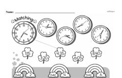 Pattern Worksheets - Free Printable Math PDFs Worksheet #29