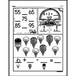Free Second Grade Subtraction PDF Worksheets Worksheet #37
