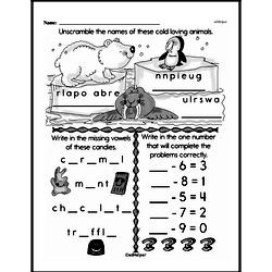 Free Second Grade Subtraction PDF Worksheets Worksheet #36