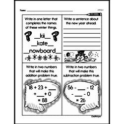 Free Second Grade Subtraction PDF Worksheets Worksheet #111