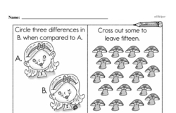 Free Second Grade Subtraction PDF Worksheets Worksheet #85