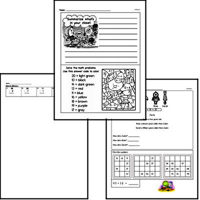 Subtraction Mixed Math PDF Book