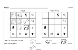 Free Second Grade Subtraction PDF Worksheets Worksheet #2