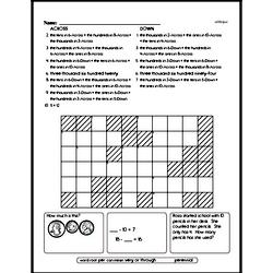 Free Second Grade Subtraction PDF Worksheets Worksheet #94